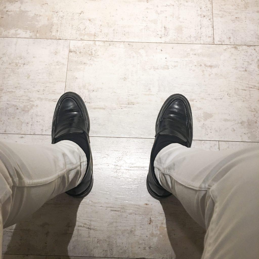 美容師の靴